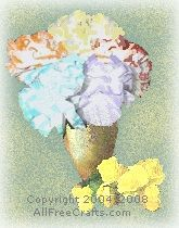 Dryer Sheet Flowers - Mother's Day Crafts
