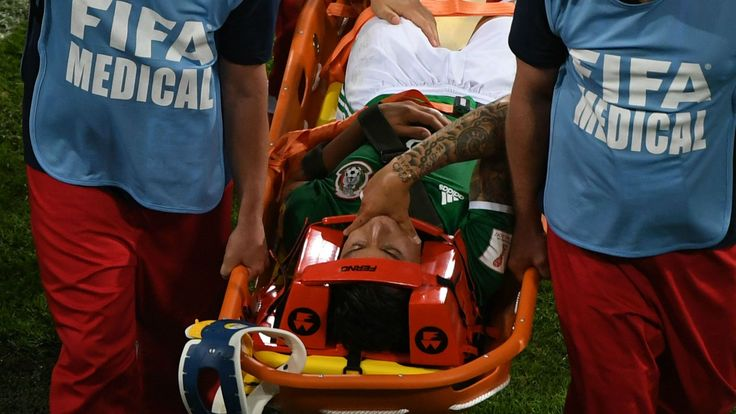 Mexico's Carlos Salcedo ruled out of Confederations Cup due to shoulder injury