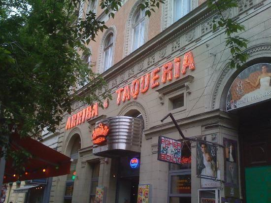 Arriba Restaurant Budapest - mexican restaurant