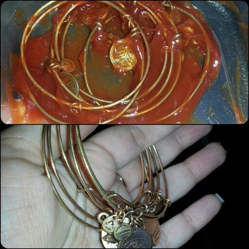 Clean Your Alex Ani Bracelets With Ketchup Let Them Sit For 5 Min And Rinse They Look New Things To Try Pinterest
