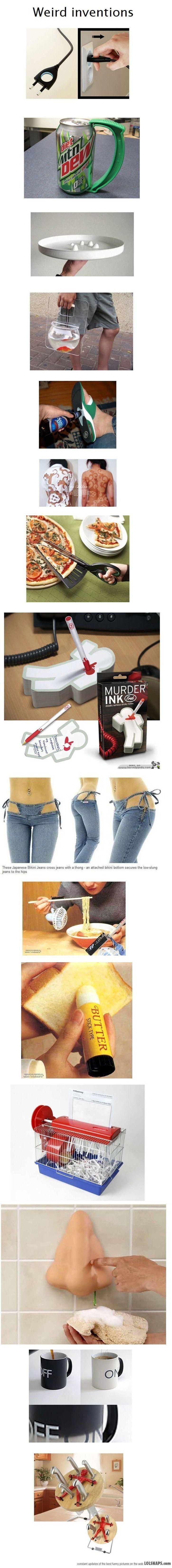 Weird Inventions / take my money .-.