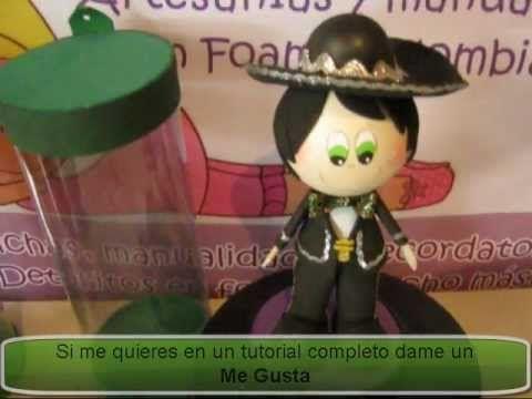 FOFUCHO MARIACHI MEXICANO EN FOAMI GOMAEVA DEL VIDEOCATALOGO PROFESIONES