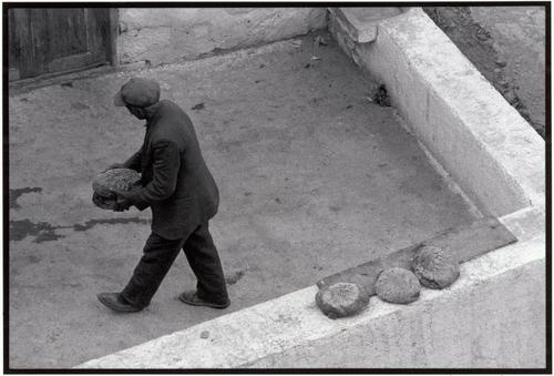 Constantine Manos - Freshly baked bread. Olympos. Karpathos. GREECE. 1964.