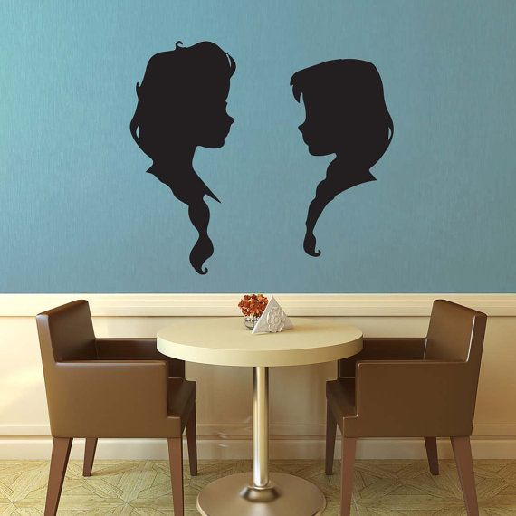 Best Frozen Wall Decals Ideas On Pinterest Crystal Wall - How to make vinyl wall decals with silhouette cameo