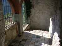 The cantina and its potential for a summer kitchen at Cloisters, Riolo, a medieval hamlet near Bagni di Lucca.