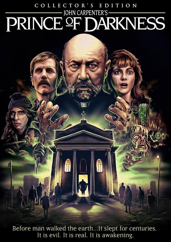 John Carpenter's 'Prince of Darkness' Bluray Cover Art