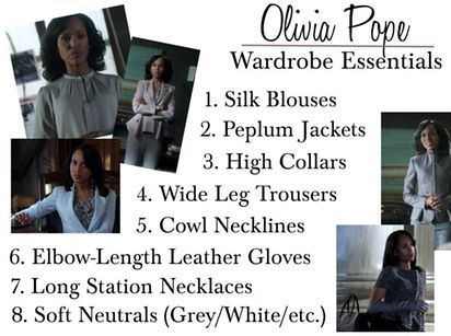 "Olivia Pope from ""Scandal"" 