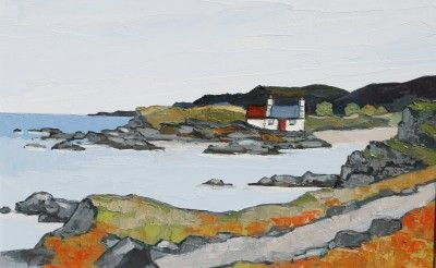 British Artist David BARNES - West Coast of Anglesey