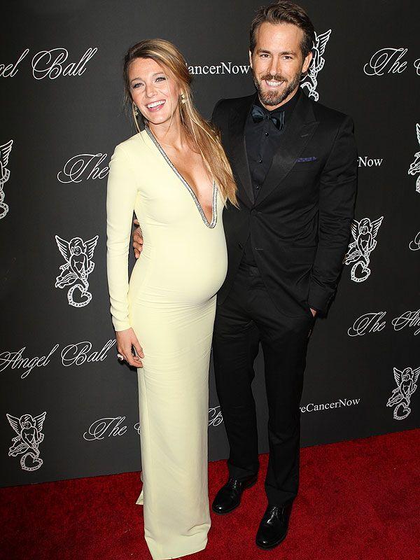 Blake Lively pregnant Ryan Reynolds  http://celebritybabies.people.com/2014/10/21/blake-lively-pregnant-ryan-reynolds-angel-ball-gucci-dress/