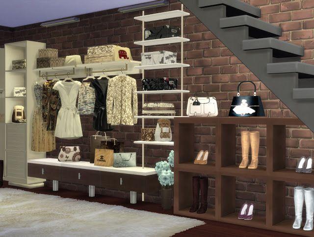Sims 4.Part 2. My Fashion Space. - pqSim4