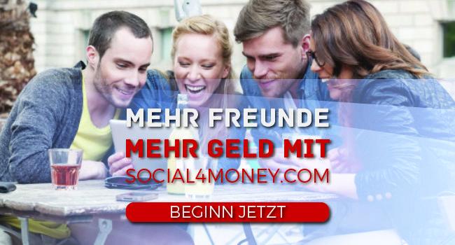 Sie haben richtig gehört! Social4money hilft nicht nur nach Möglichkeiten zu suchen, Geld durch Ihre Social-Media-Konten zu verdienen. Wir bringen Ihnen auch die besten Angebote durch Personalisierungen für jeden einzelnen unserer Nutzer.