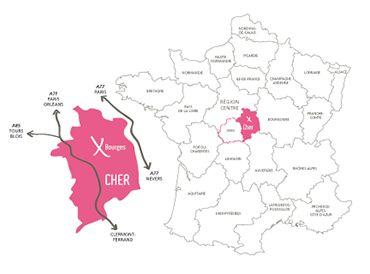 Le département du Cher | Mon Cher Business