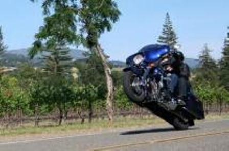 glide street wheelie harley times davidson 2006 baggers road gibson john nation pulling via discover