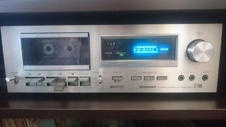 PİONEER CT-F600 Cassette deck