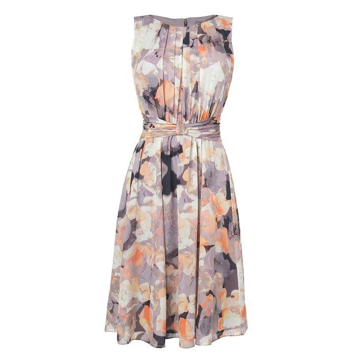 LK Bennett Carly Floral Print Silk Dress £275.00