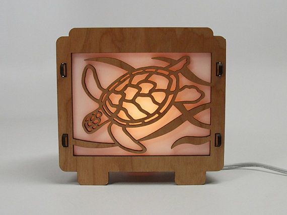 Awesome turtle lamp!! I love this <3