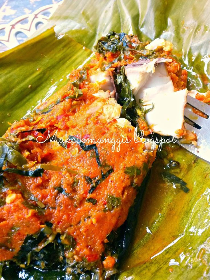 jom masak, jom makan makan..: Botok Botok Ikan Tenggiri