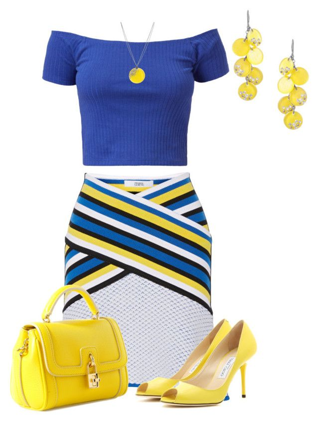 Yellow and blue dresses for women
