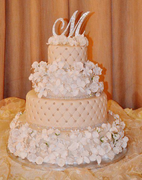 Sugar Coated cakes Wedding Cakes Photos on WeddingWire