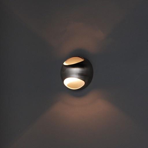 Wandlamp OJO staal € 29,95