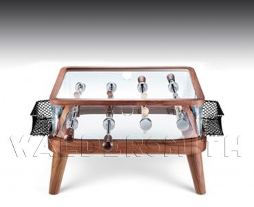 Teckell Coffee Table Intervallo. A football table and a coffee table. Treat your living room: http://www.gamesroomcompany.com/Product_Catalogue/Table_Football/Table_Football_Tables/Teckell_Coffee_Table_Intervallo_12064 #soccer #footballtable #worldcup