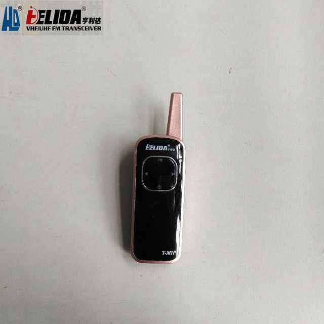 one Pieces HELIDA T-M1P radio super small portable professional FM transceiver walkie talkie two day radio 25 channel 400-480MHz