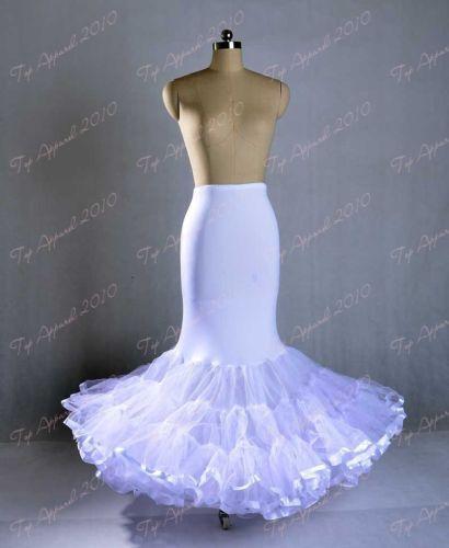 Wedding dress slips mermaid pictures