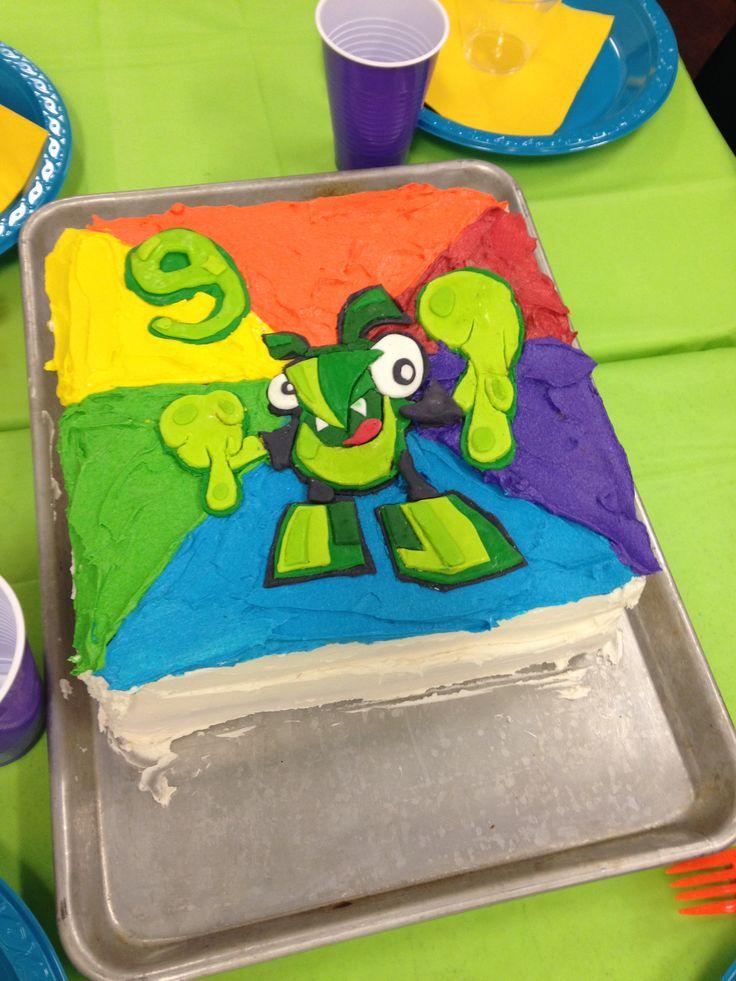 Mixel Birthday Cake