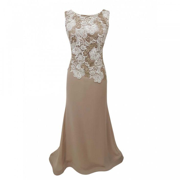 Φόρεμα μάξι σε άλφα γραμμή