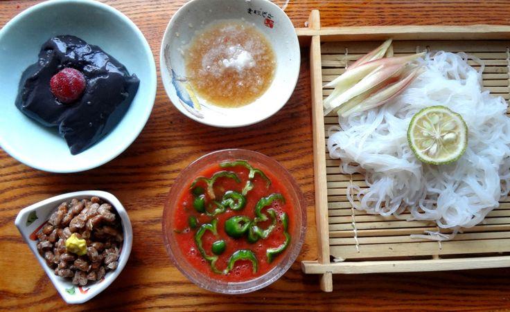 Shirataki noodle menu