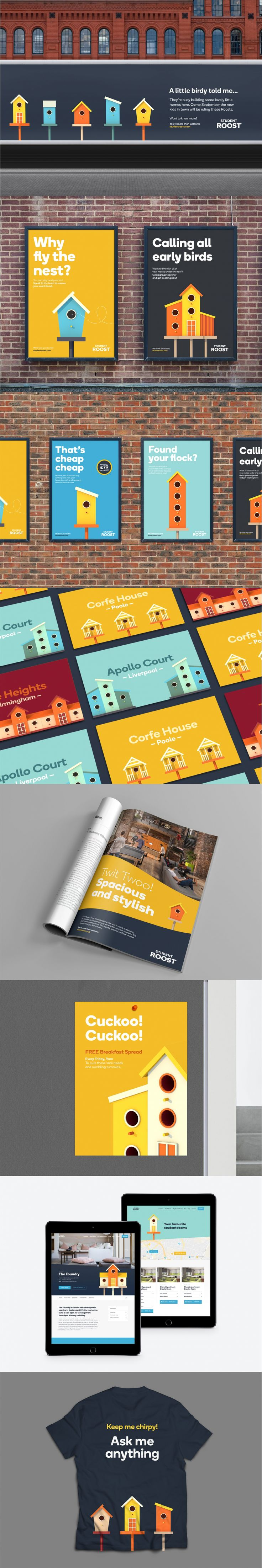 SomeOne brings students home to Roost with bright and upbeat branding  Written by Laura Collinson