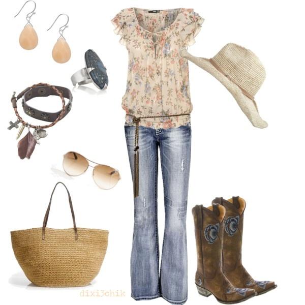 Country girl styleCountry Girl Style, Cowboy Boots, Cowgirls Outfit, Country Girls Fashion, Country Fashion, Country Outfit, Country Girls Style, Dreams Closets, Chic Clothing