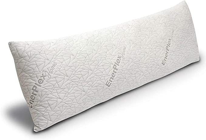 enerplex never flat body pillow