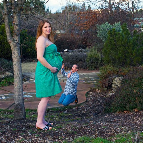 Funny Maternity Picture