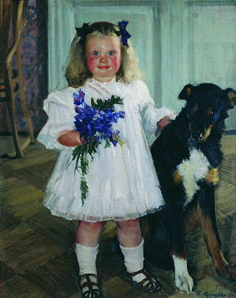 Boris Kustodiev (1878 – 1927, Russian)
