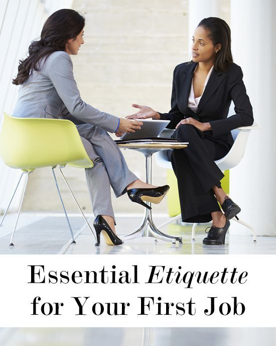 Essential Etiquette For Your First Job | Levo | Career Advice