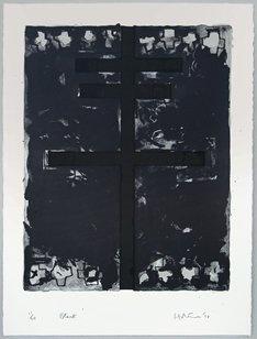 Ralph Hotere — Black
