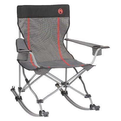 Coleman Quad Chair Rocker Camping Pinterest