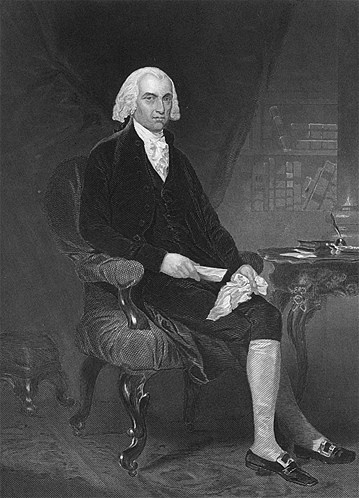 Known as the 'Father of the Constitution,' Madison was a co-author of the Federalist papers and much of the Constitution. But did you know he also is regarded as the smallest leader in US history? He is said to have been no taller than 5 feet 4 inches and to weigh less than 100 pounds. (© MPI/Getty Images)