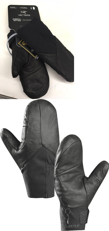Womens leather ski gloves - Gloves And Mittens 62172 Arcteryx Anertia Mitt Womens Ski Mittens Snowboard Backcountry Size Medium Black