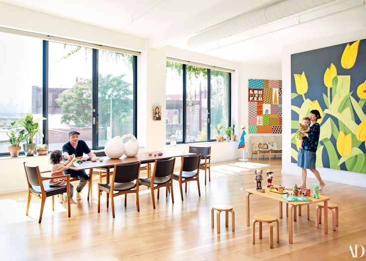 Inside Brian Donnelly and Julia Chiang's Brooklyn Home Photos | Architectural Digest