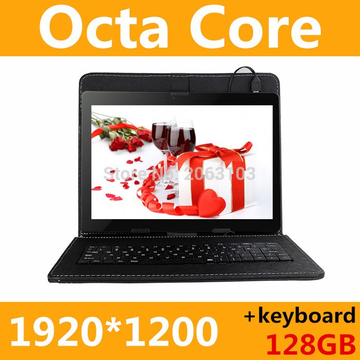Tablet PC 10 inch 3g 4g tablet Octa Core 1920*1200 ips 4g+128gb rom+keyboard android 6.0 gps bluetooth Dual sim card Phone Call