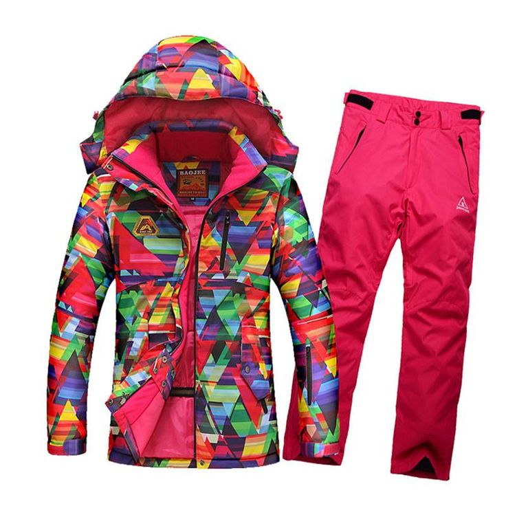 2017 New Women Ski Suit Waterproof Breathable Jacket Skiing Snowboard Pants Winter Thick. 2017 New Women Ski Suit Waterproof Breathable Jacket Skiing Snowboard Pants Winter Thick Warm Outdoor Ski Sportswear Set WS018  Features  Jacket Colors: Colorful Jacket  Pants Colors: About 5 Colors,There is always a suitable for you!  Sport Type: Skiing,Snowboarding,Skating,Hiking,Climbing,Skateboarding.  Package includes    1 * Skiing Jacke    1 * Skiing Pants      Shipping:                         …