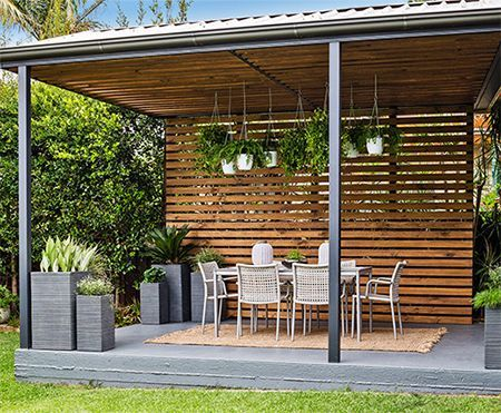 Home-Dzine - Turn a carport into a stylish patio - Whether you renovate an existing carport into a patio or decide to have a basic carport erected, the simple design of a carport allows you to set up an easy patio area in a small or large garden. And with a few design elements you can transform a carport into a comfortable and unique patio or entertainment area. - See more at: www.home-dzine.co...