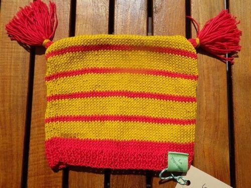 Bonnet en coton pour garder les oreilles au chaud en automne.