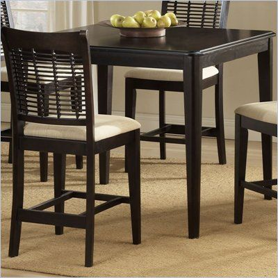 hillsdale bayberry glenmary 42 counter height dining table in cherry. beautiful ideas. Home Design Ideas