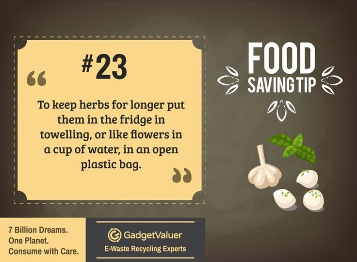 Food Saving Tip 23 | 150+ Sustainability Resources | #WED2015 #7BillionDreams #Sustainability