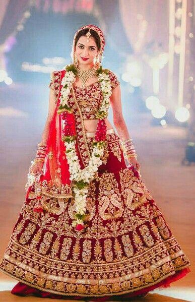 fb5ceb7be2746 Bridal Lehenga Collection | Indian Bridal Lehenga Choli in 2019 ...