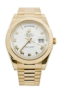Rolex Day-Date II automatic-self-wind mens Watch 218238WR (Certified Pre-owned) - Performance And Work Great Everyday To Everyone