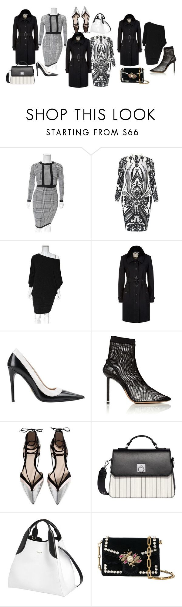 """""""Some days are harder than others - U decide"""" by blujay1126 ❤ liked on Polyvore featuring Burberry, Alexander Wang, Fiorelli, Lanvin and Proenza Schouler"""